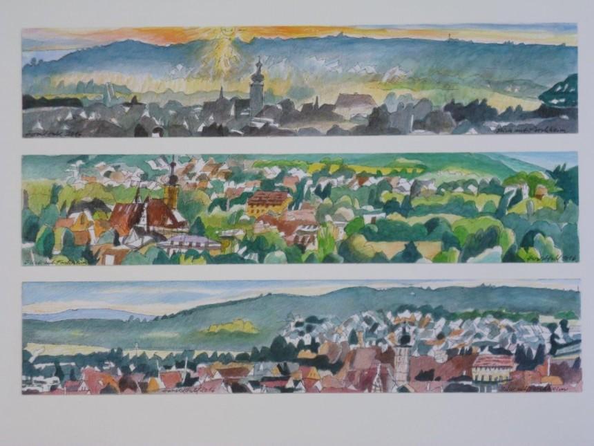 Blick auf Forchheim